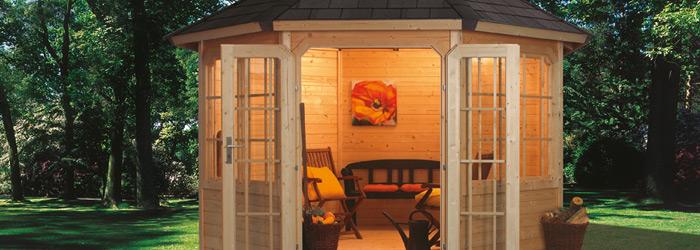 Gartenpavillon Holz Gebraucht ~ Gartenpavillon – aus gängigen Baumaterialien dauerhaft errichtet