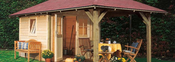 Gartenhaus oder Pavillon