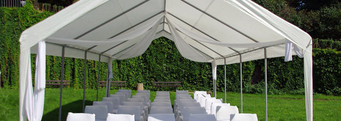 Zeltpavillons